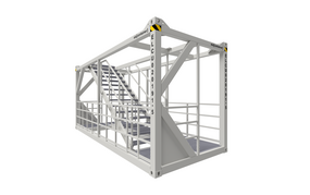 20 ft ELA Offshore Stairway Container
