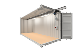 20 ft ELA Offshore Workshop Container with crane runway