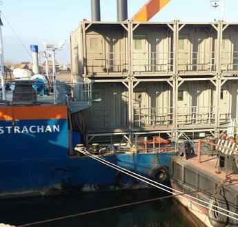 "Offshore Accommodation for accommodation pontoon ""Astrachan"""