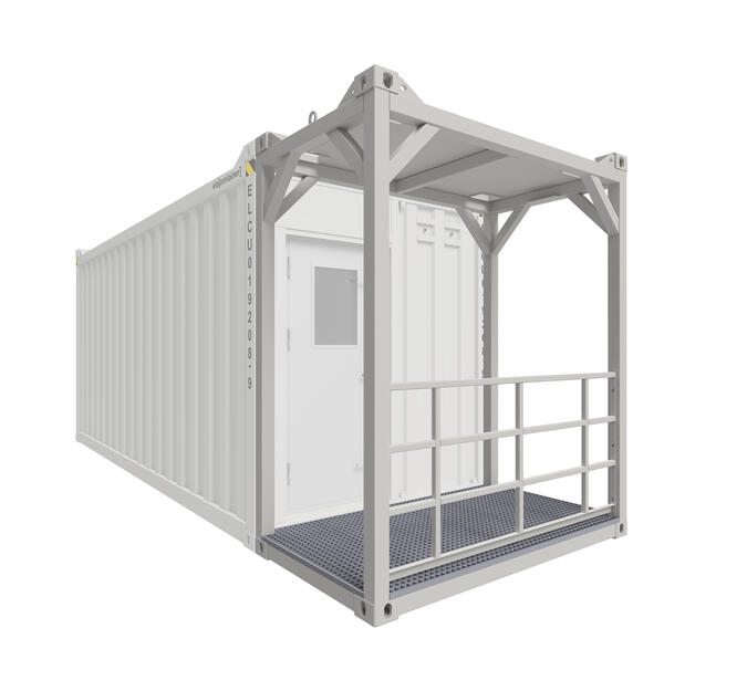 Gangway Container combined with Allrounder