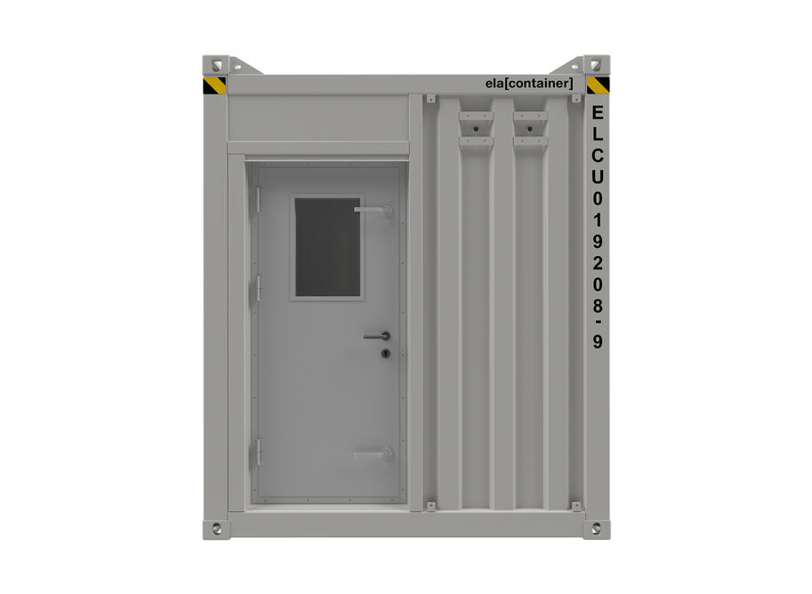 20 ft ELA Offshore Multipurpose Container - closed frontview