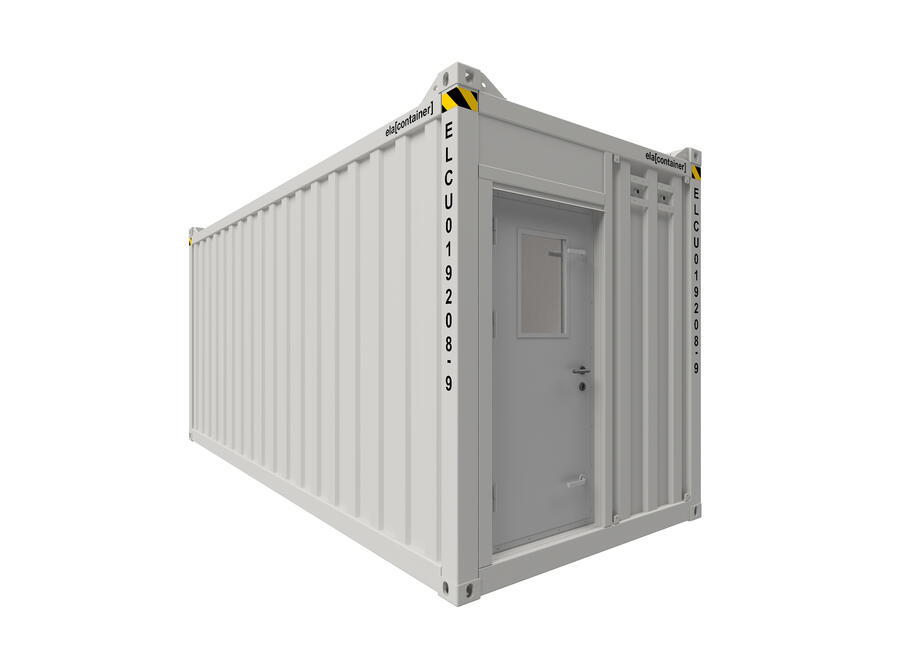 20 ft ELA Offshore Multipurpose Container - closed isoview