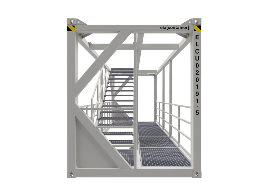 20 ft ELA Offshore Stairway Container - frontview