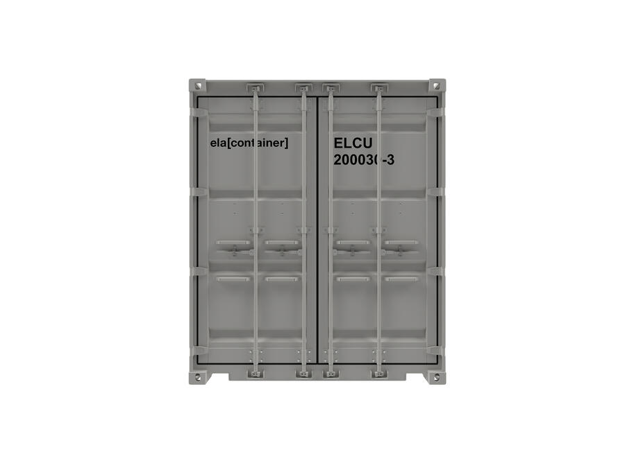 20 ft ELA Offshore Workshop Container - closed frontview