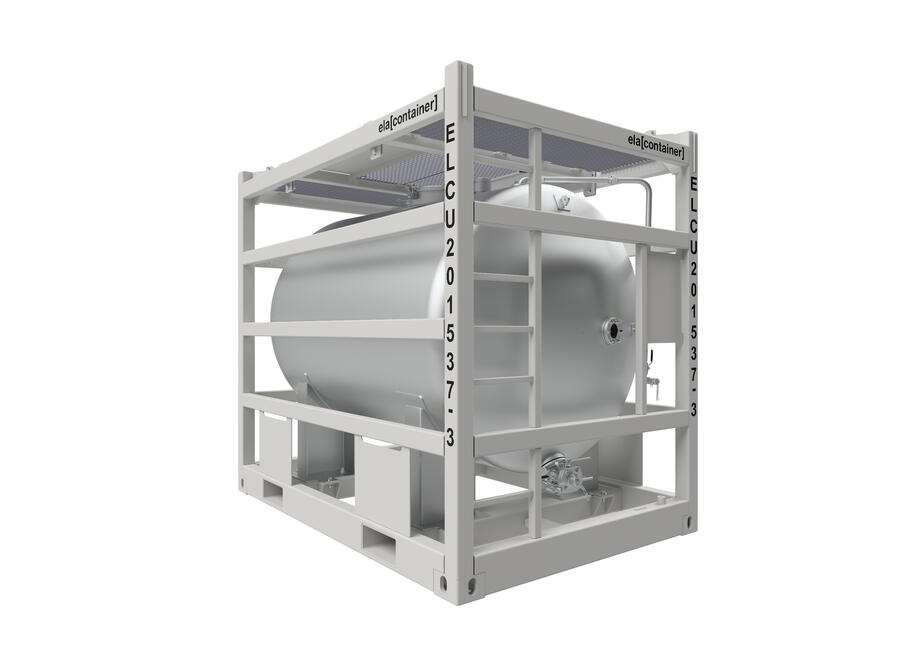 ELA Offshore Horizontal Chemical Tank - isoview