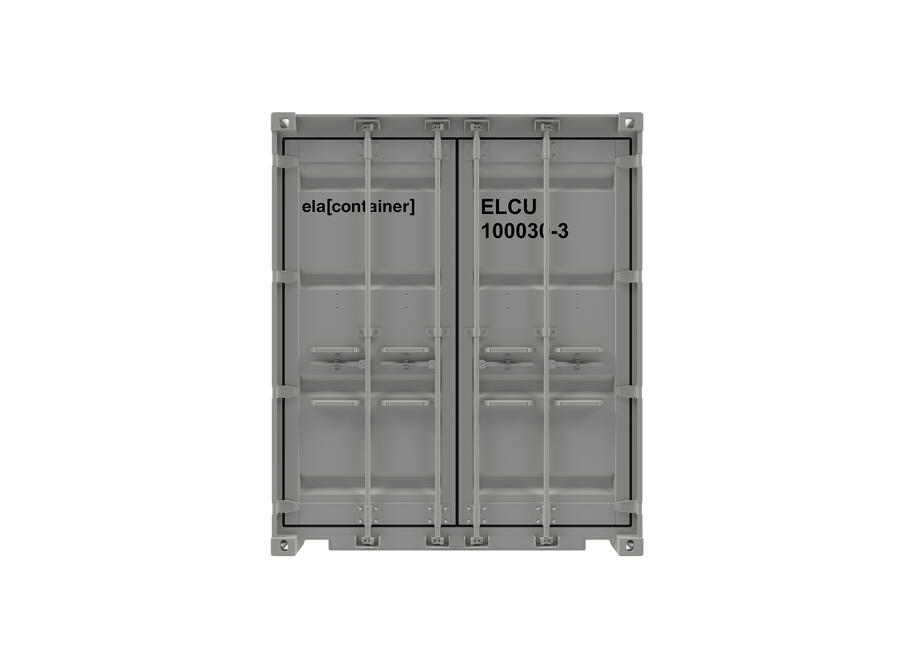 10 ft ELA Offshore Storage Container - closed frontview