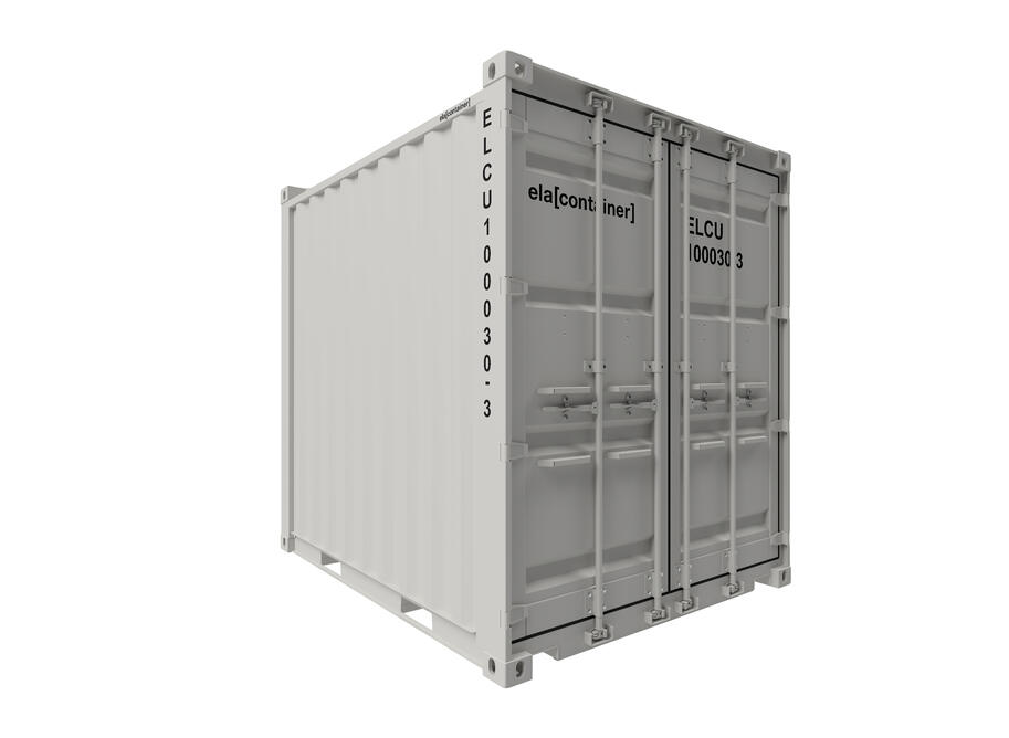 10 ft ELA Offshore Storage Container - closed isoview