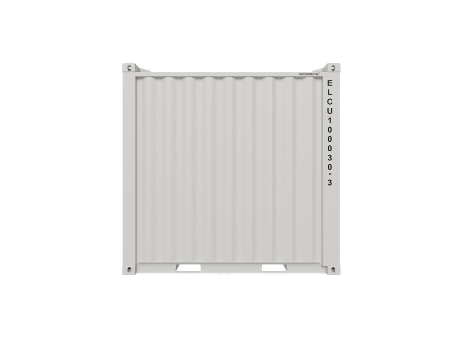 10 ft ELA Offshore Storage Container - closed sideview